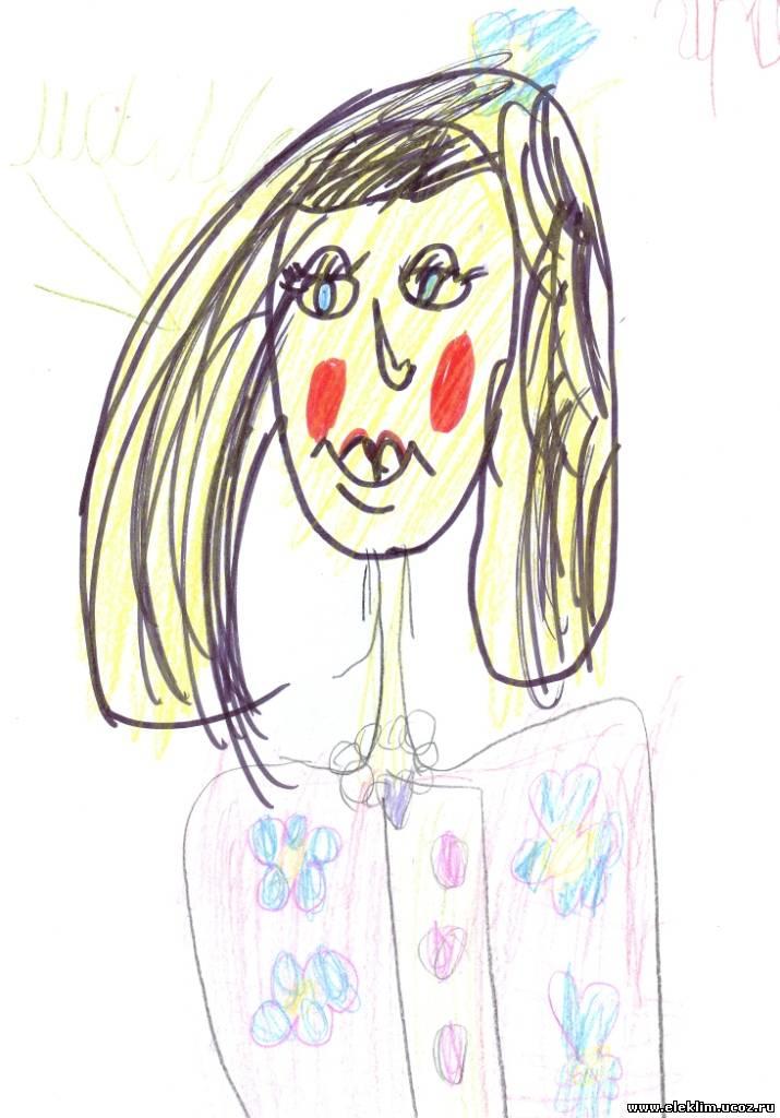Нарисовать рисунок о маме 1 класс